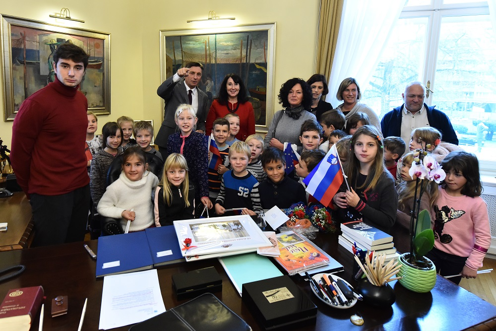 2.a – ekskurzija v Ljubljano in sprejem pri predsedniku